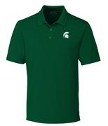 Michigan State Cutter And Buck Drytec Forge Polo