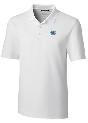 UNC Cutter And Buck DryTec Forge Polo WHITE