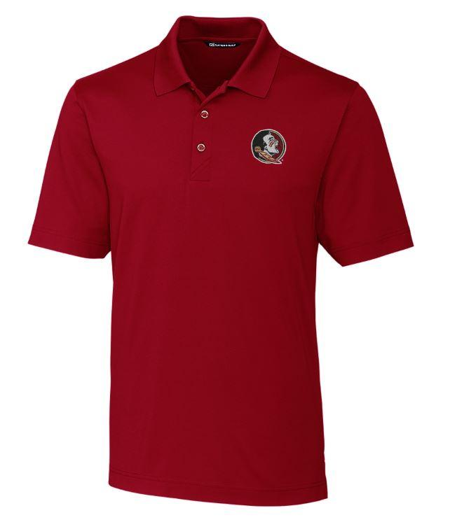 Florida State Cutter And Buck Drytec Forge Polo