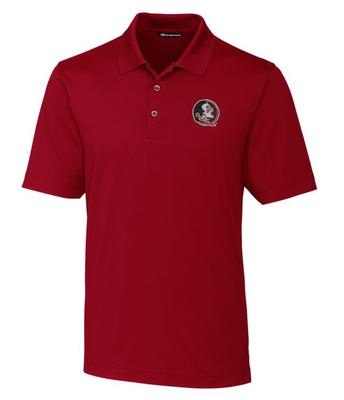Florida State Cutter And Buck DryTec Forge Polo CHUTNEY