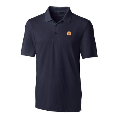 Auburn Cutter And Buck DryTec Forge Polo NAVY
