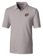 Western Kentucky Cutter And Buck Drytec Pencil Stripe Forge Polo