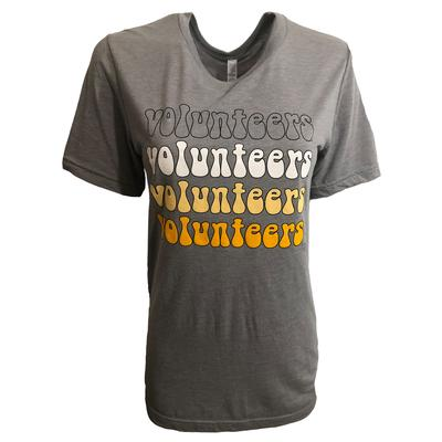 Southern Made Tees Groovy Volunteers Stack Tee