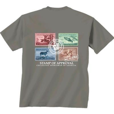 Georgia Vintage Stamps Comfort Colors T-Shirt