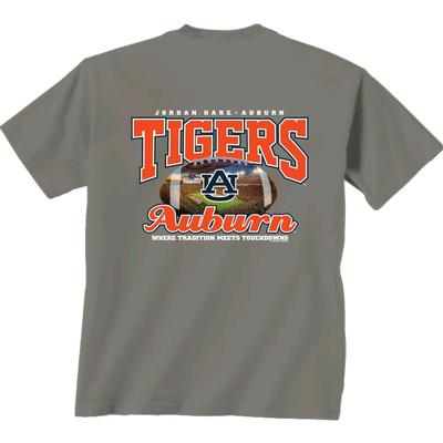 Auburn Tigers Football Stadium Comfort Colors Tee