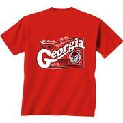 Georgia Girls Wavy Label Youth Tee