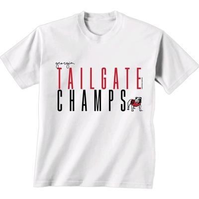 Georgia Bulldogs Ladies Tailgate Champs Tee