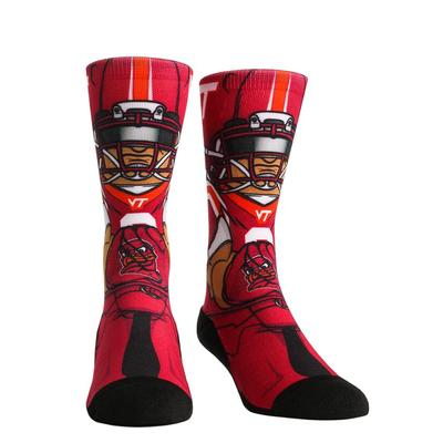 Virginia Tech Rock 'Em Hyperoptic Playmaker Socks