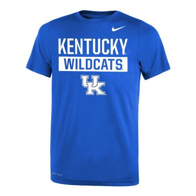 Kentucky Nike Youth Legend DriFit 2.0 Tee