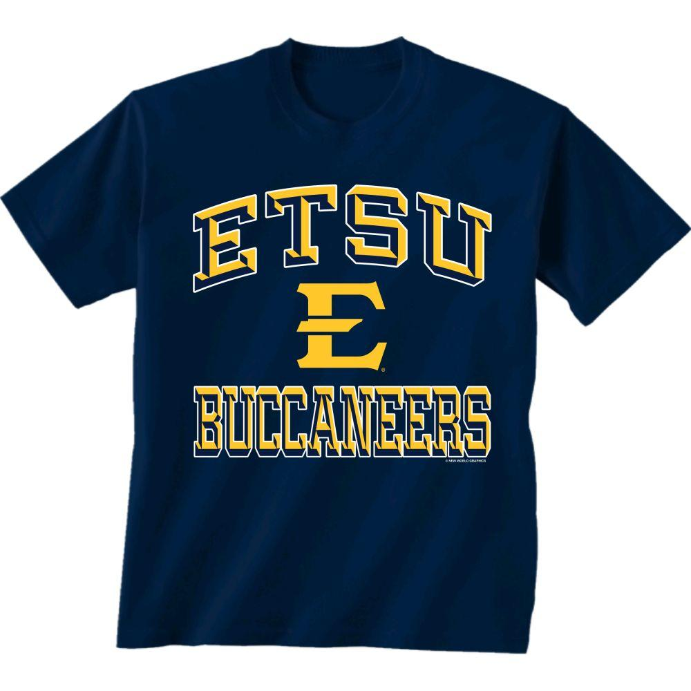 Etsu Buccaneers Stack Logo Toddler Tee