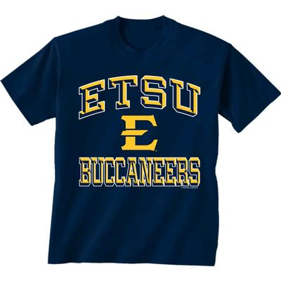 ETSU Buccaneers Stack Logo Toddler Tee