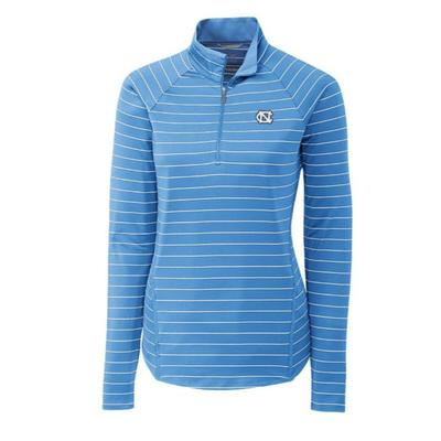 UNC Cutter & Buck Long Sleeve Evie 1/2 Zip Pullover