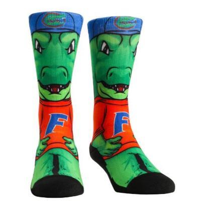 Florida Rock Em  HyperOptic Mascot Crew Socks