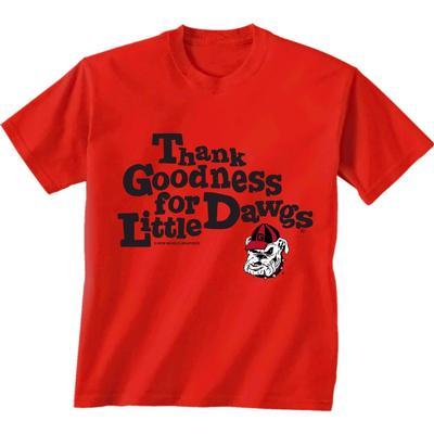 Georgia Bulldogs Thank Goodness Toddler Tee