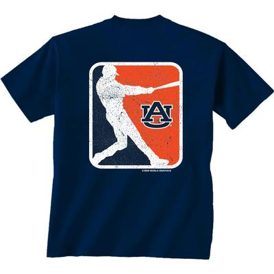 Auburn Vintage Baseball Comfort Colors T-Shirt