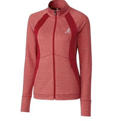 Alabama Cutter & Buck Women's Shoreline Colorblock Jacket