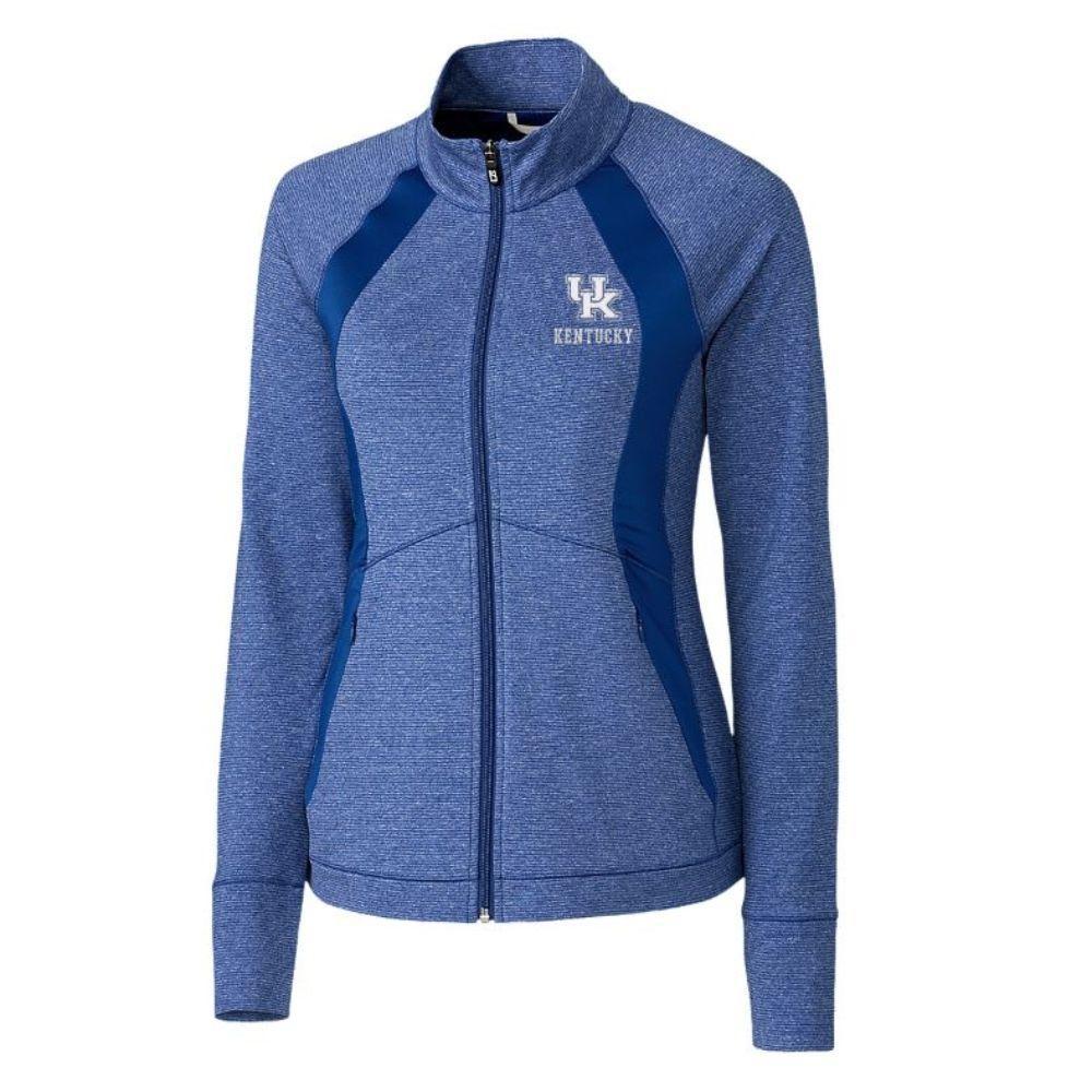 Kentucky Cutter & Buck Women's Shoreline Colorblock Jacket