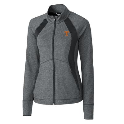 Tennessee Cutter & Buck Women's Shoreline Colorblock Jacket