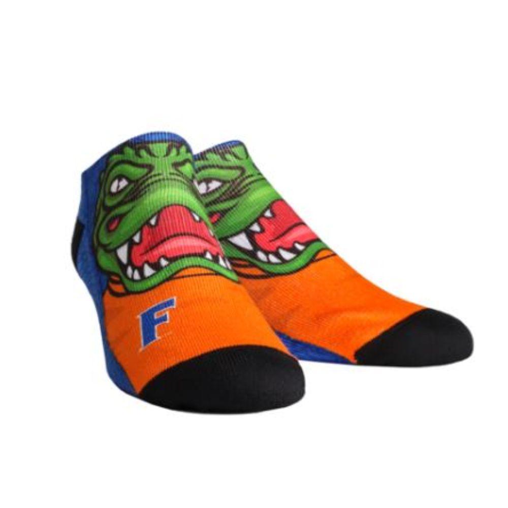Florida Rock Em Mascot Low Cut Socks