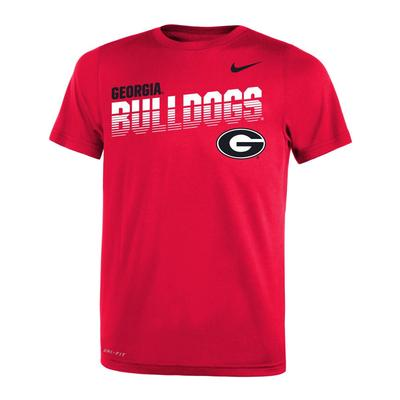 Georgia Nike Youth Legends DriFit Tee