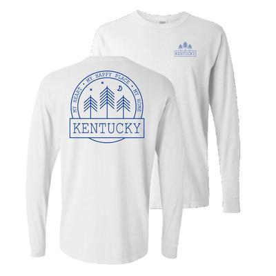 Kentucky Wildcats Starry Night Long Sleeve Comfort Colors Tee