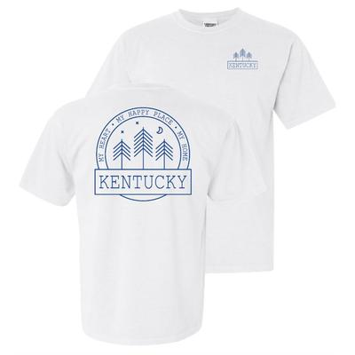 Kentucky Starry Night Short Sleeve Comfort Colors Tee