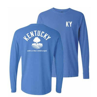 Kentucky Oaks Long Sleeve Comfort Colors Tee