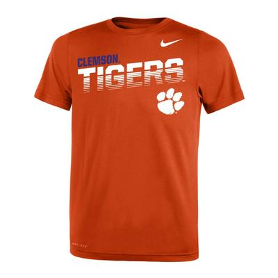 Clemson Nike Youth Legends DriFit Tee