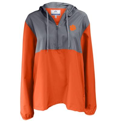 Clemson Summit 1/4 Zip Color Block Anorak Jacket