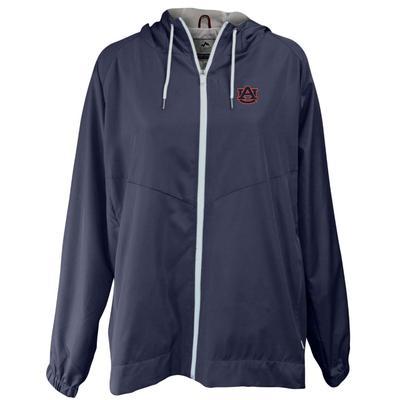 Auburn Summit Full Zip Hooded Rain Jacket