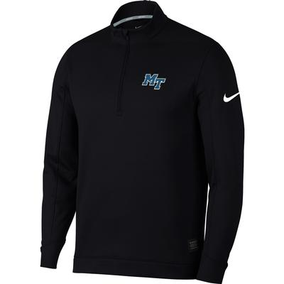 MTSU Nike Golf Therma-FIT 1/4 Zip Top BLACK