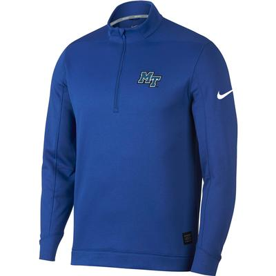 MTSU Nike Golf Therma-FIT 1/4 Zip Top ROYAL