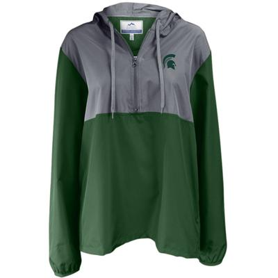 Michigan State Summit 1/4 Zip Color Block Anorak Jacket