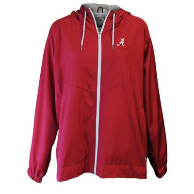 Alabama Summit Full Zip Hooded Rain Jacket