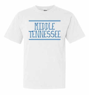 MTSU Hand Drawn Double Bar Comfort Colors Tee