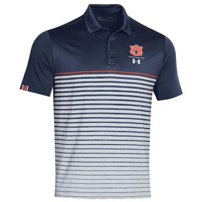 Auburn Under Armour Pinnacle Coaches Polo