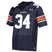 Auburn Under Armour Youth # 34 Replica Jersey