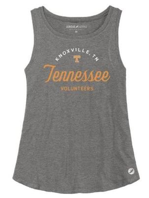 Tennessee League Women's Tri-flex Retro Trapeze Tank