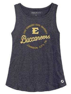 ETSU League Women's Tri-flex Retro Trapeze Tank
