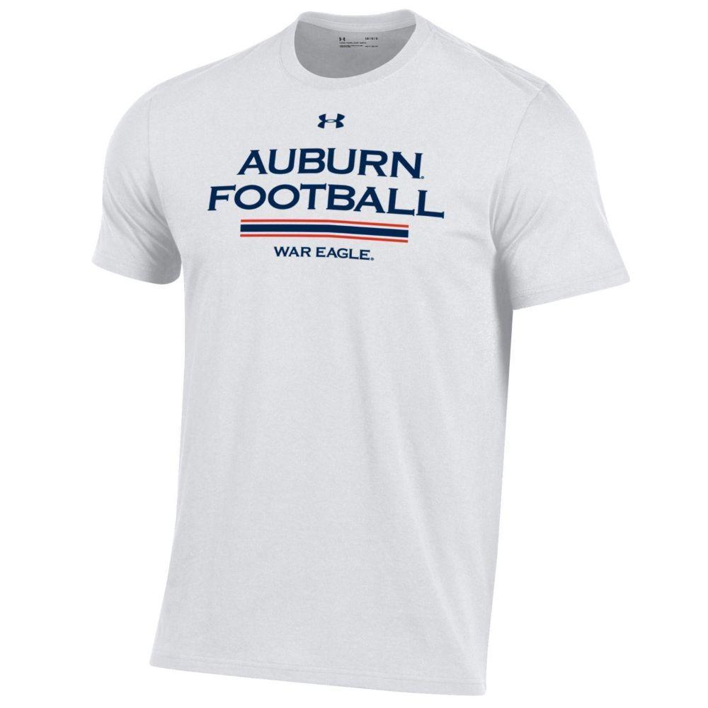 Auburn Under Armour Performance Cotton Tee