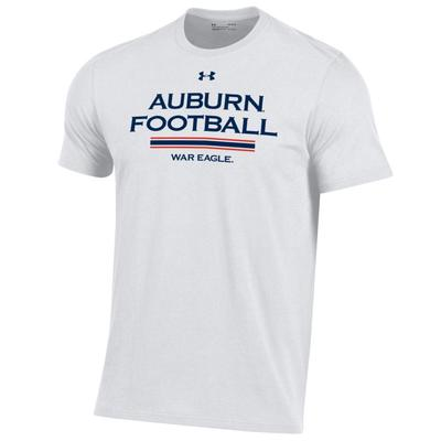 Auburn Under Armour Performance Cotton Tee