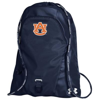 Auburn Under Armour Undeniable Sackpack NAVY