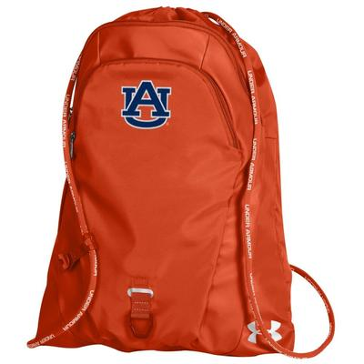 Auburn Under Armour Undeniable Sackpack ORG