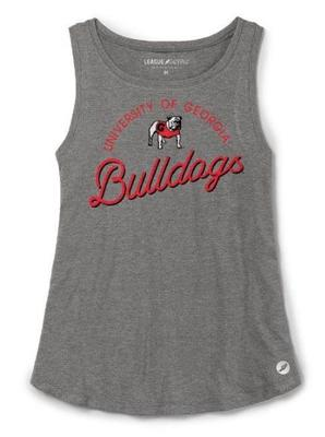 Georgia League Women's Tri-flex Retro Trapeze Tank
