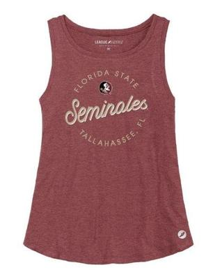 Florida State League Women's Tri-flex Retro Trapeze Tank