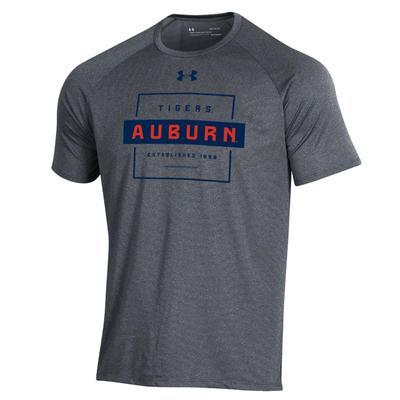 Auburn Under Armour Tech Short Sleeve Tee