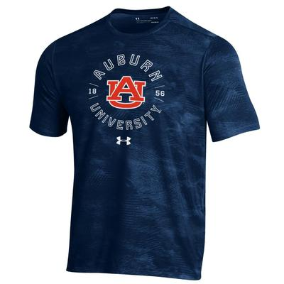 Auburn Under Armour Tech Helix Wet Paint Tee Shirt