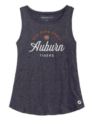 Auburn League Women's Tri-flex Retro Trapeze Tank