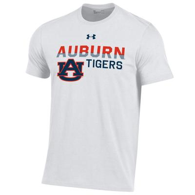 Auburn Under Armour Fading Logo Tee