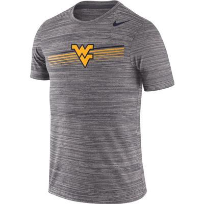 West Virginia Nike Dri-FIT Legend Velocity Tee DK_GREY